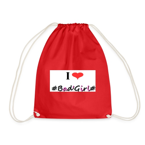 Collection Hastag I love bad girl - Sac de sport léger
