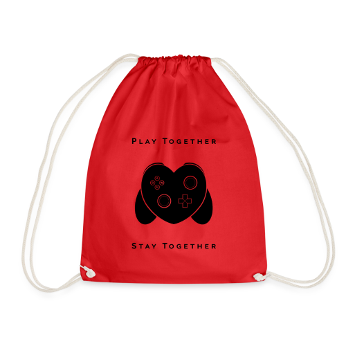 Play Together Stay Together - Drawstring Bag