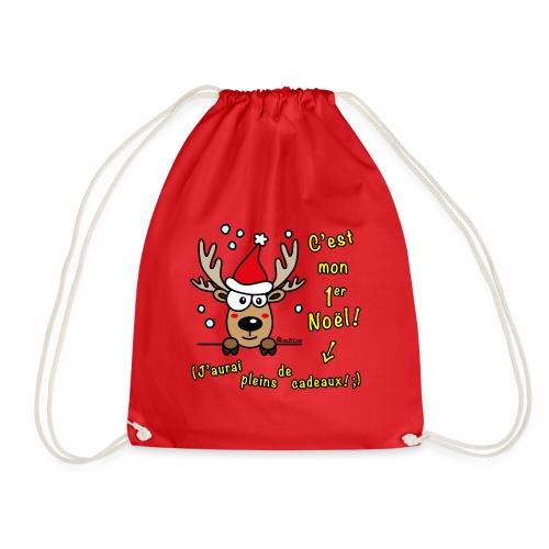 Renne - C'est mon Premier Noël - Cadeaux Drôles - Sac de sport léger