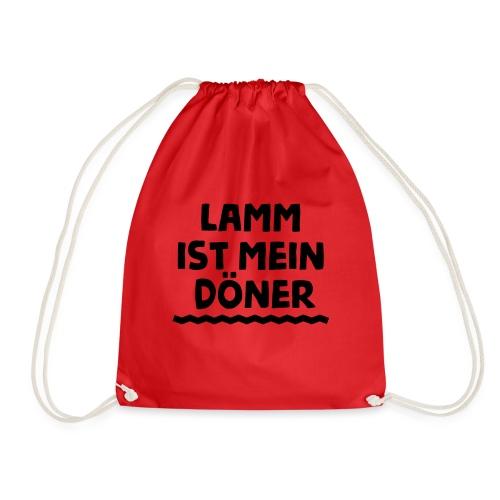Lamm ist mein Doener / Geil / Türkischer Spruch - Turnbeutel