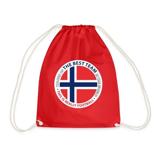 Norway Best Football Team - Drawstring Bag