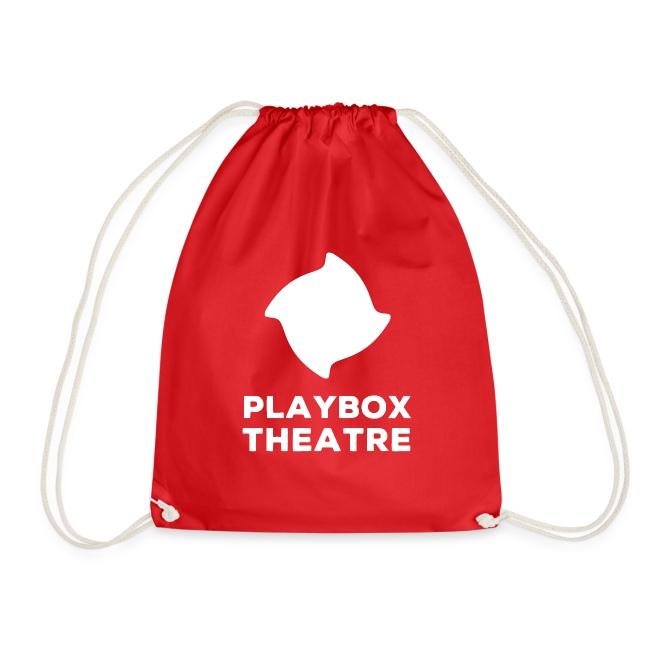 Playbox Logo Stacked White