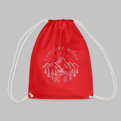 Explore more - Drawstring Bag