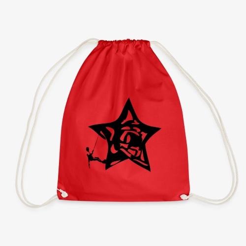 Rapel desde estrella - Star Rappel - Climb - Drawstring Bag
