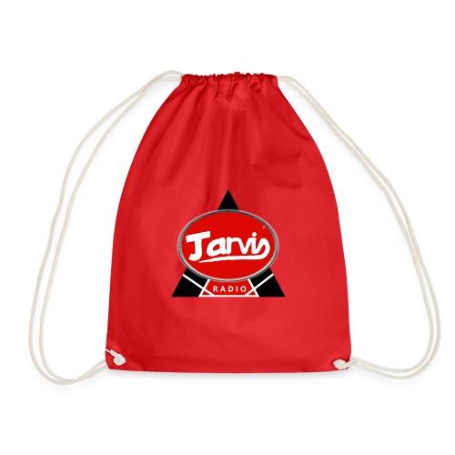 Jarvis Radio Logo - Drawstring Bag