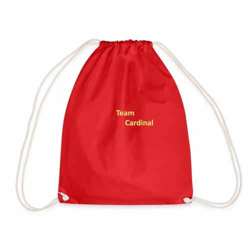 team cardinal 1 - Drawstring Bag