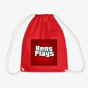 BensPlays met achtergrond - Gymtas