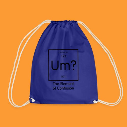 element of confusion - Drawstring Bag