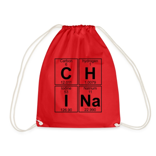 C-H-I-Na (china) - Full - Drawstring Bag