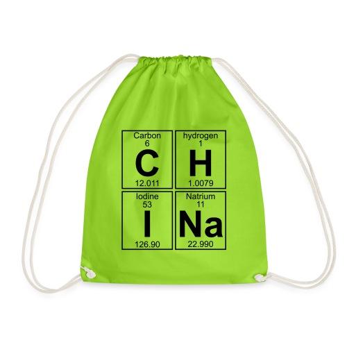 C-H-I-Na (china) - Full - Drawstring Bag