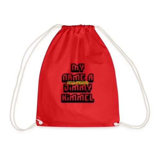 My Name Jimmy Kimmel - Drawstring Bag