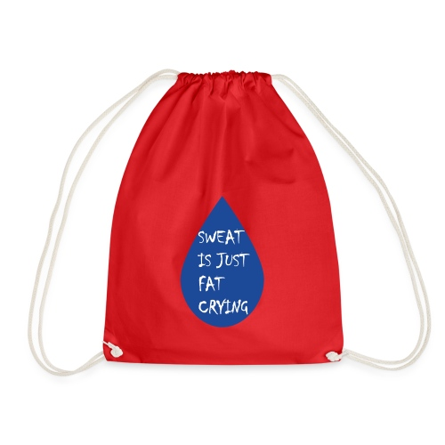 Funny fitness quote - Drawstring Bag