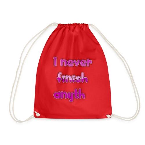 finish - Drawstring Bag