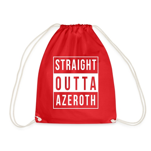 Straight Outta Azeroth - Turnbeutel