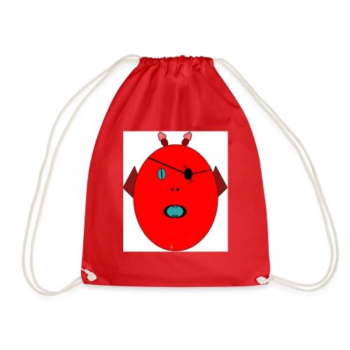 The red monster - Gymnastikpåse
