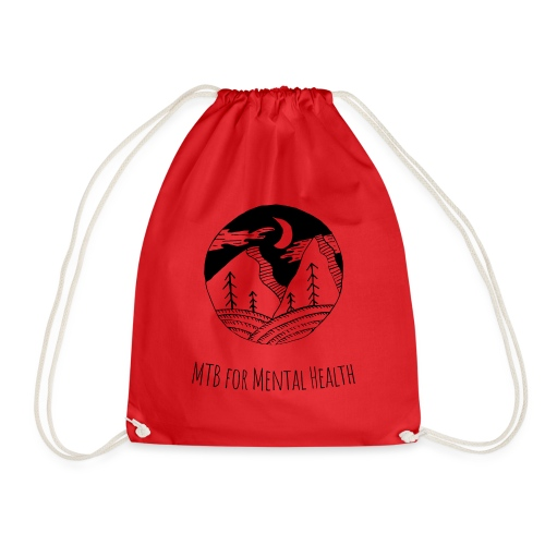 MTB for Mental Health - Drawstring Bag