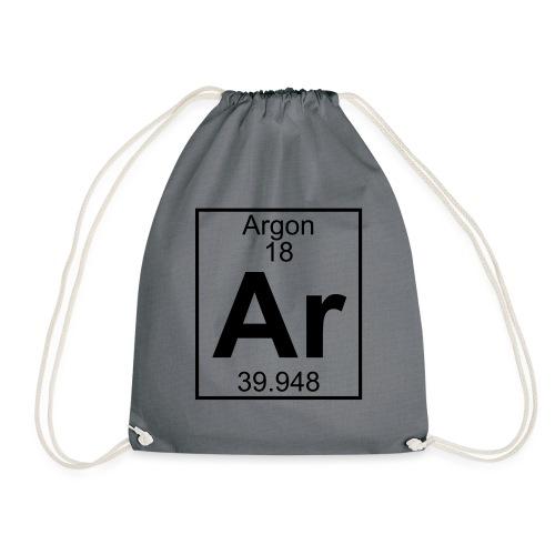 Argon (Ar) (element 18) - Drawstring Bag