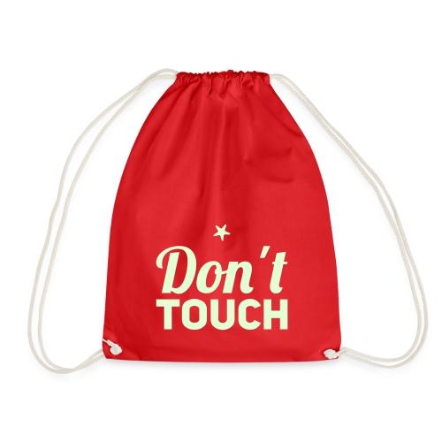 Don´t touch - Turnbeutel