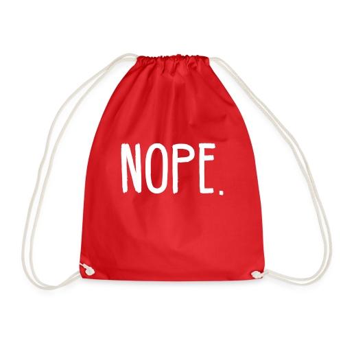 NOPE - Drawstring Bag