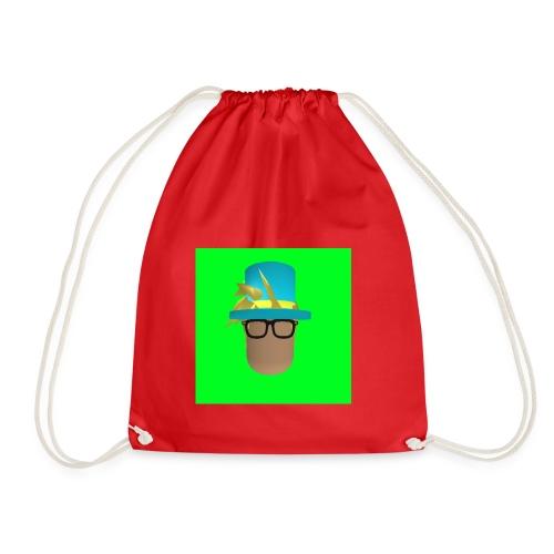 MrWhatWhat Logo Merch - Drawstring Bag