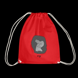 Rip Harambe - Drawstring Bag