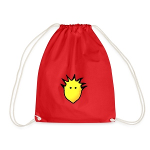 Spikey Lemon logo 2 - Drawstring Bag