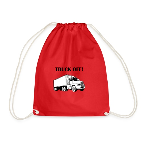 Truck off! - Drawstring Bag