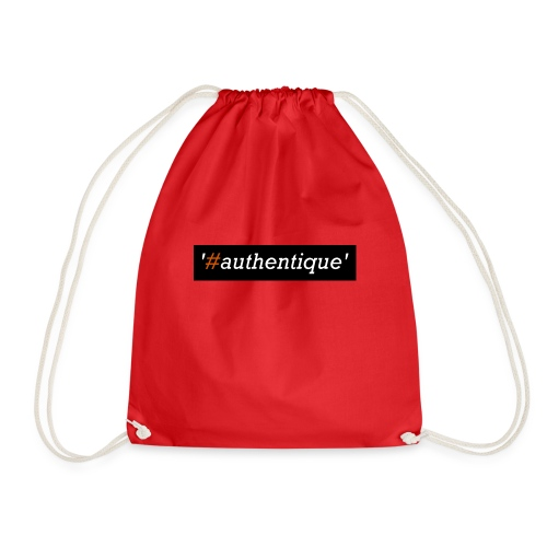 authentique - Drawstring Bag