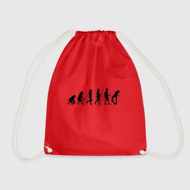 Heartbeat skating t-shirt gift sport sports - Drawstring Bag