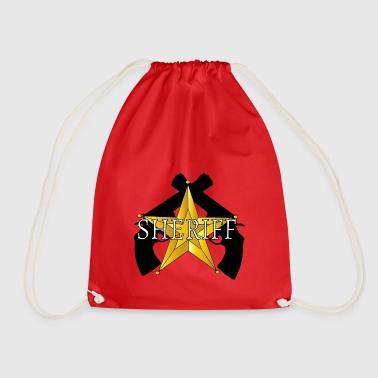 Sheriff Guns logo - Drawstring Bag