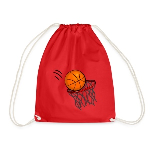 Ball in the Hoop - Drawstring Bag