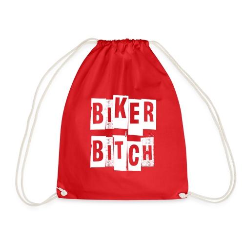 biker - Drawstring Bag