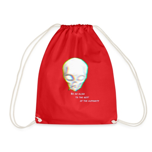 Alien to the world - Mochila saco