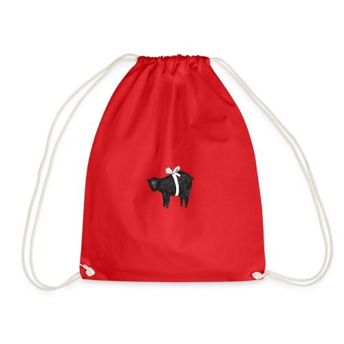 Christmas bear - Drawstring Bag