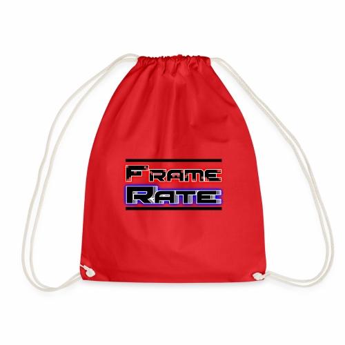 TFRLogoWhite AlphaNoCircle - Drawstring Bag
