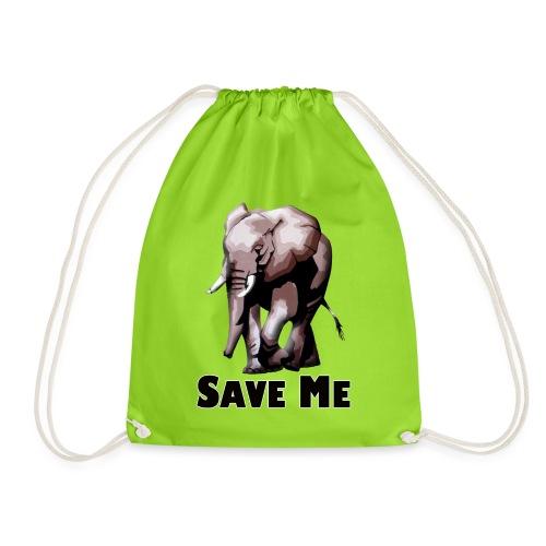 Elefant - SAVE ME - Turnbeutel