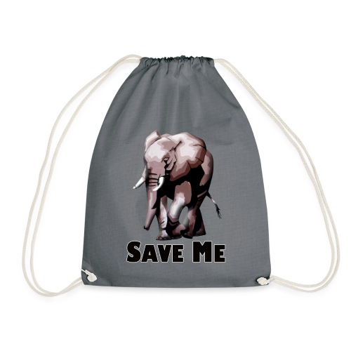 Elefant - SAVE ME - Turnbeutel