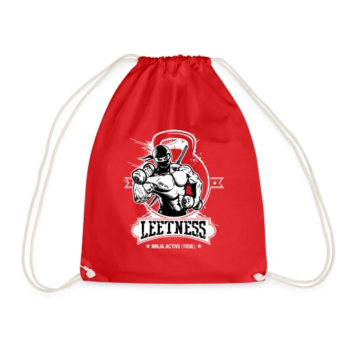 Leetness - Men's sports shirt - Drawstring Bag