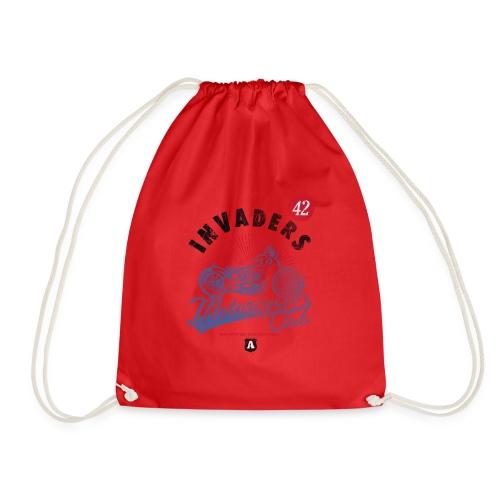 DownloadT-ShirtDesigns-com-2121724 Invaders - Drawstring Bag