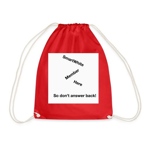 Default SmartWhite Member Merch - Drawstring Bag