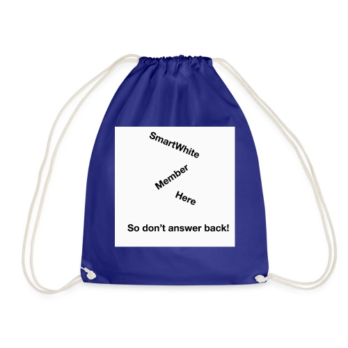 Default SmartWhite Member Merch - Drawstring Bag