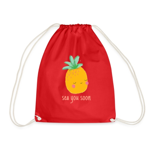 Sea you soon - Drawstring Bag