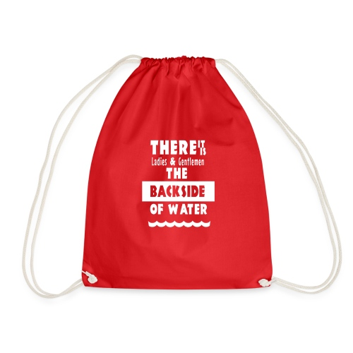 The Backside Of Water - Drawstring Bag