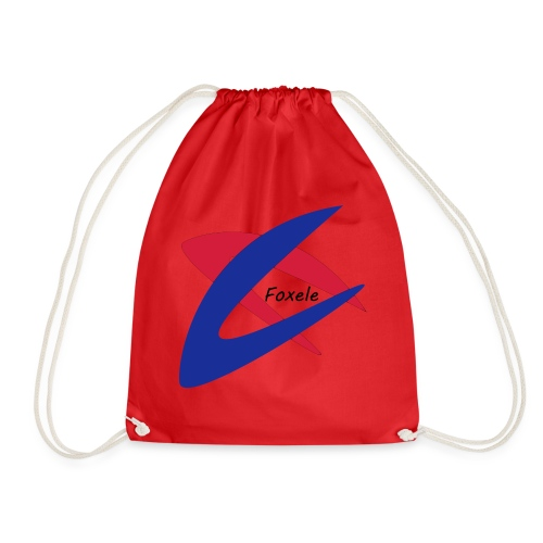Red/Blue - Drawstring Bag
