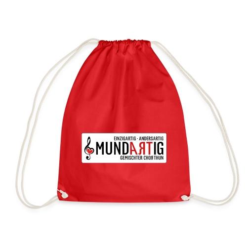 Logo Mundartig - Turnbeutel