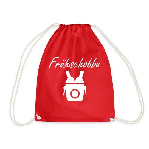 fruehschobbe white - Turnbeutel