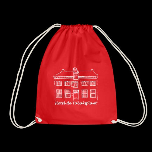 Hotel de Tabaksplant WHITE - Drawstring Bag