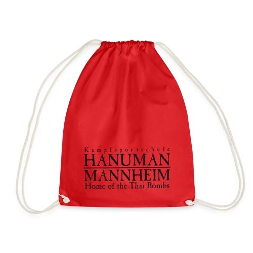 hanuman logo - Turnbeutel