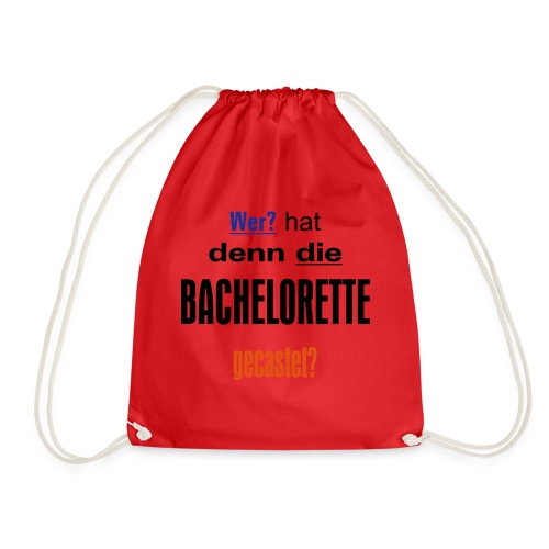 Bachelorette Casting - Turnbeutel