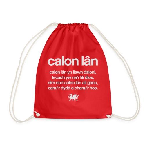 Wales rugby - Calon Lan - Drawstring Bag